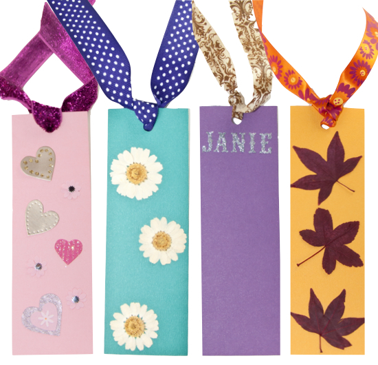 DIY Paper Bookmarks