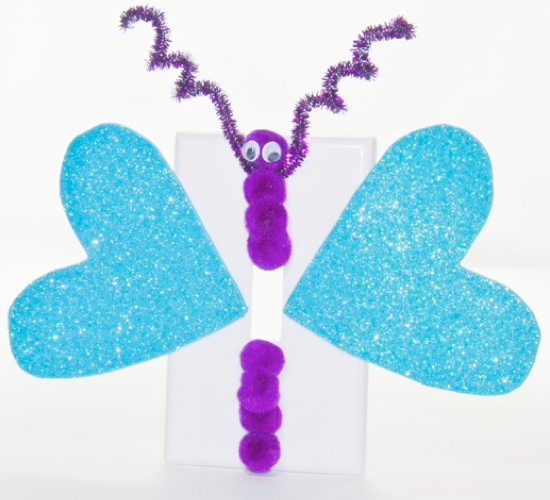 Butterfly Light Switch Cover Kids Kubby