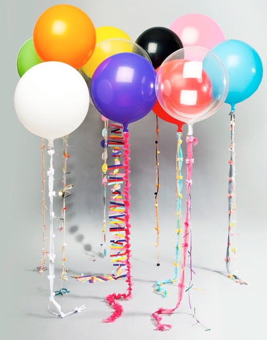 Balloon decorating ideas party favors ideas for Balloon birthday decoration