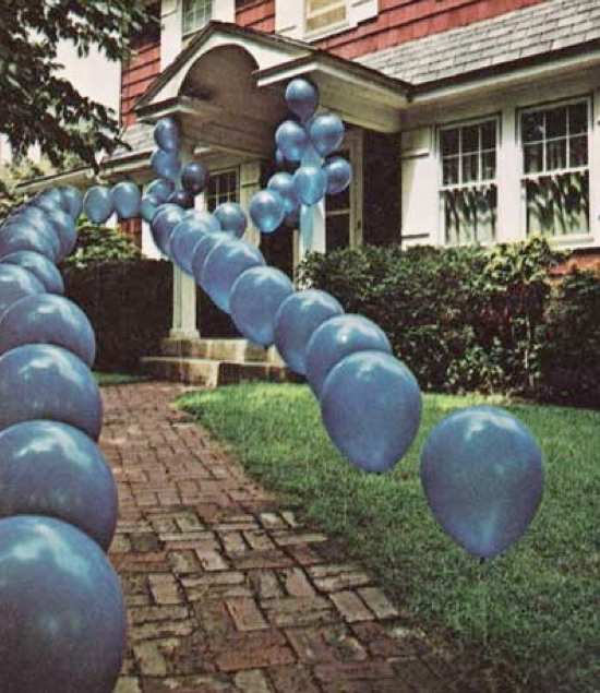balloon decoration ideas for outdoor party
