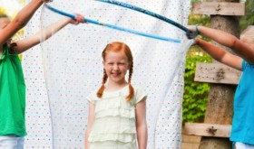 bubble ideas for a kids party