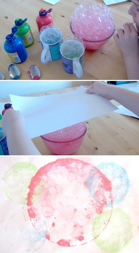 bubble crafts for kids