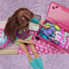 how to make a suitcase for barbie