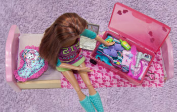 DIY Barbie Suitcase
