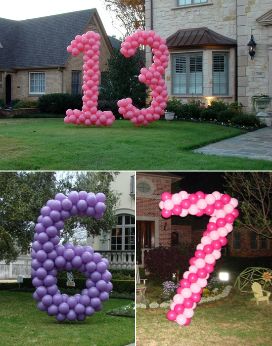 Balloon decoration ideas kids kubby for Birthday balloon ideas