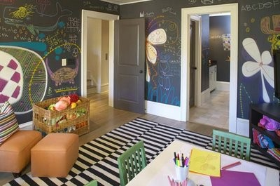 Chalkboard paint ideas kids kubby for Chalkboard paint ideas for bedroom