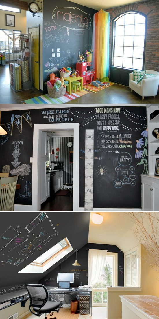 Chalkboard Paint Ideas For A Bedroom: Cool ...