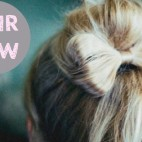 Hair Bow Hairstyle Instructions