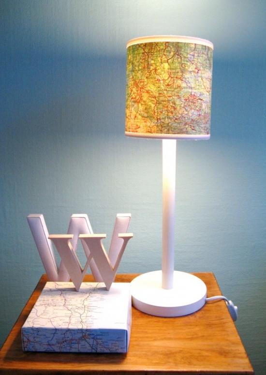 Crafts lamp shades idea - Cool lamp shade ...