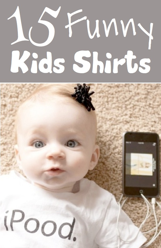 15 Hilarious Kids Shirts