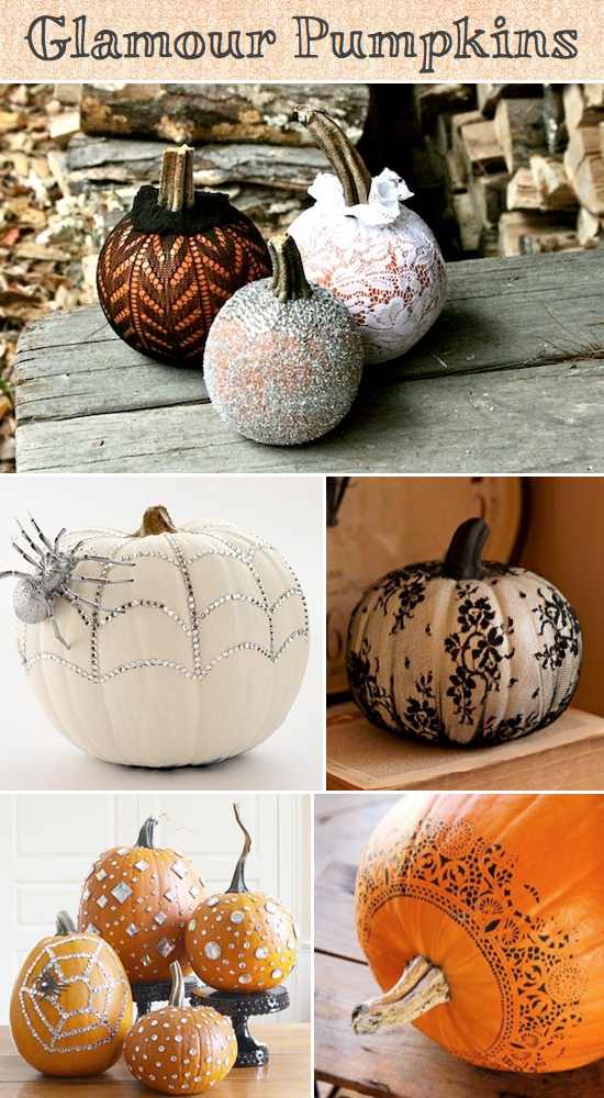 8 Easy Pumpkin Ideas Without Carving - photo#4