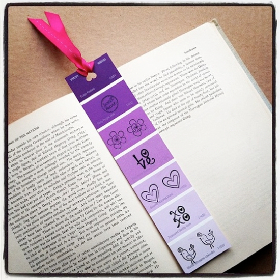 Bookmark Design Ideas bookmarks bookmarks 18 Paint Chip Craft Ideas Bookmark Design Ideas