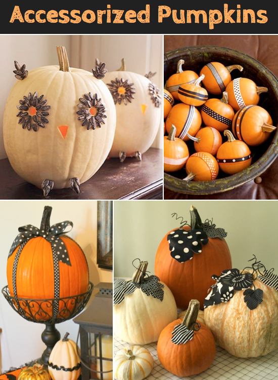 Easy pumpkin ideas without carving