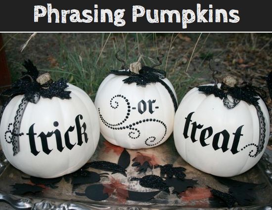Pumpkins With Phrases