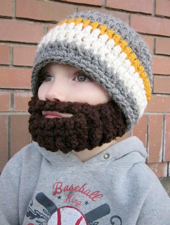 Beard Beanies For Kids bc008d670a2