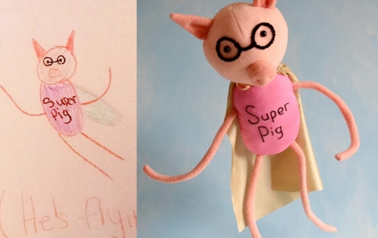 Kids Drawings Made Real