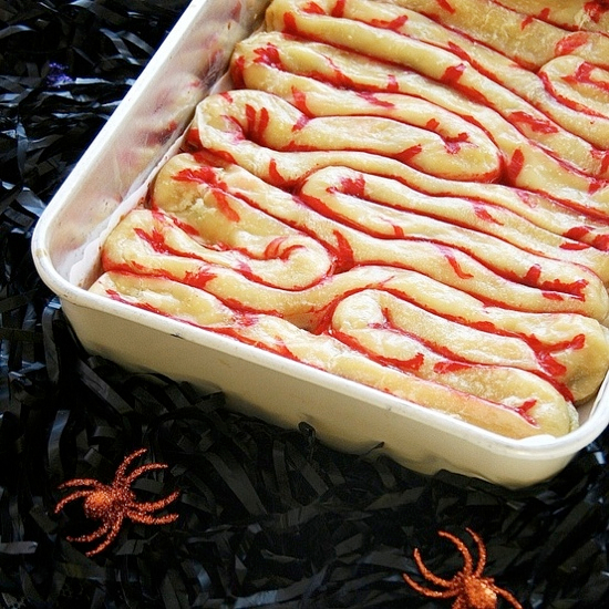 8 REALLY Gross Halloween Food Ideas!!