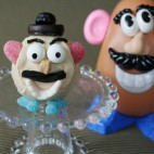 Mr Potato Head Cupcake Decorations