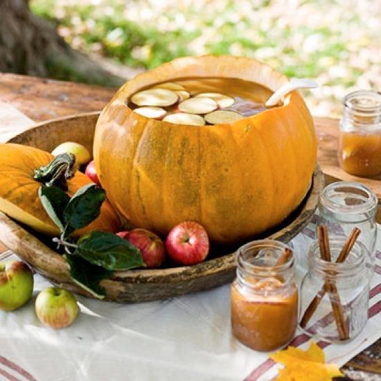 Pumpkin Bowl Recipes & Ideas