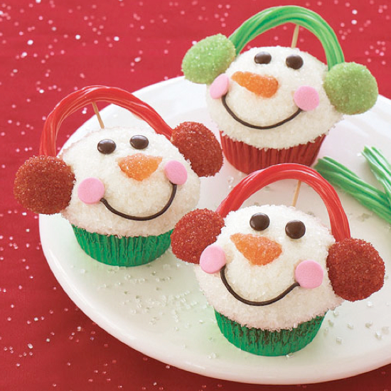 source club chica circle tons of really creative christmas cupcake ideas - Christmas Cupcake Decorations