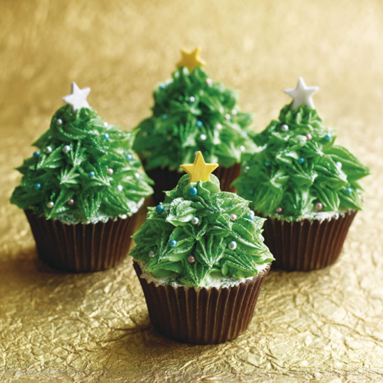 Cupcake Decorating Christmas Tree : 9 Creative Christmas Cupcake Ideas - Kids Kubby