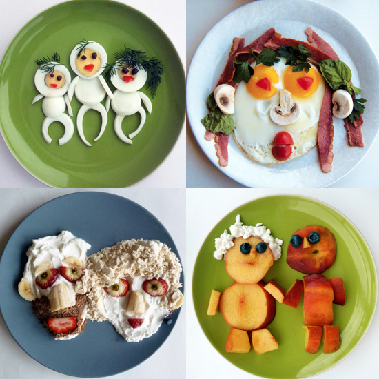 Creative breakfast ideas for kids for Cool food ideas for kids