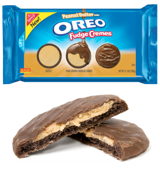 new oreo fudge cremes