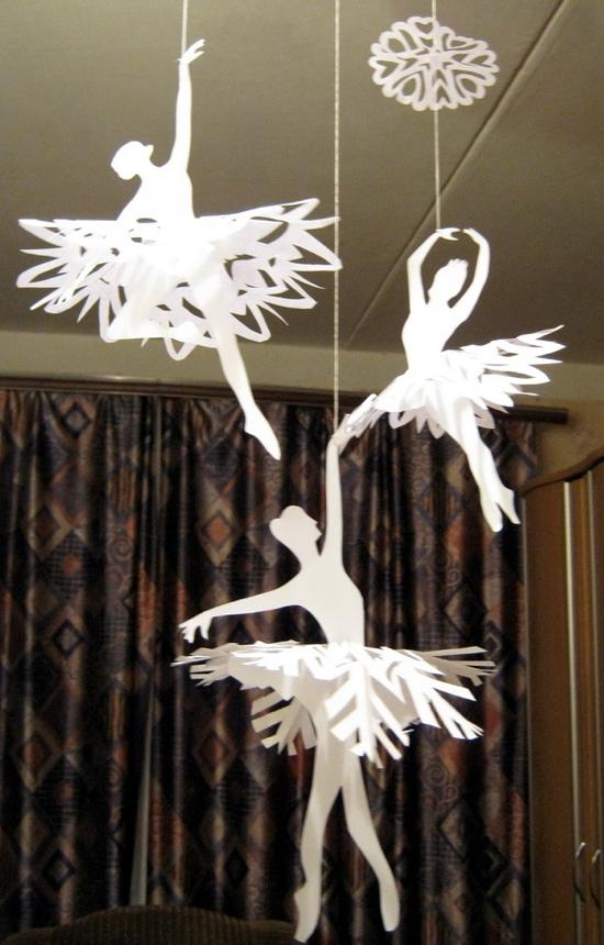 Водопровод в дачном доКак сделать снежинку балерину