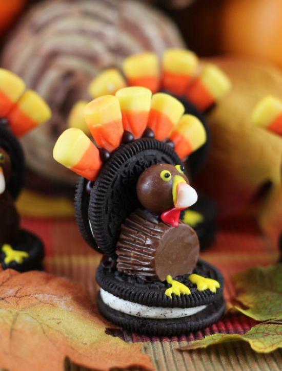 50 Really Cute Thanksgiving Fall Treat Ideas
