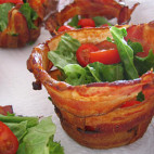 Bacon Salad Cups