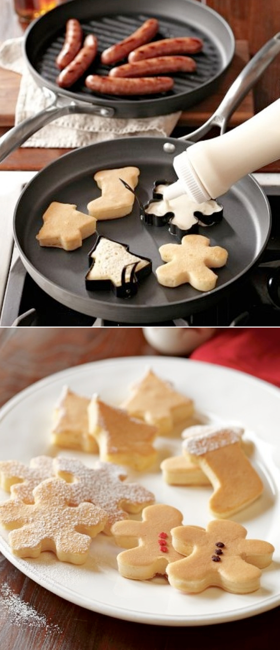 Lots of really cute and easy Christmas breakfast ideas!!