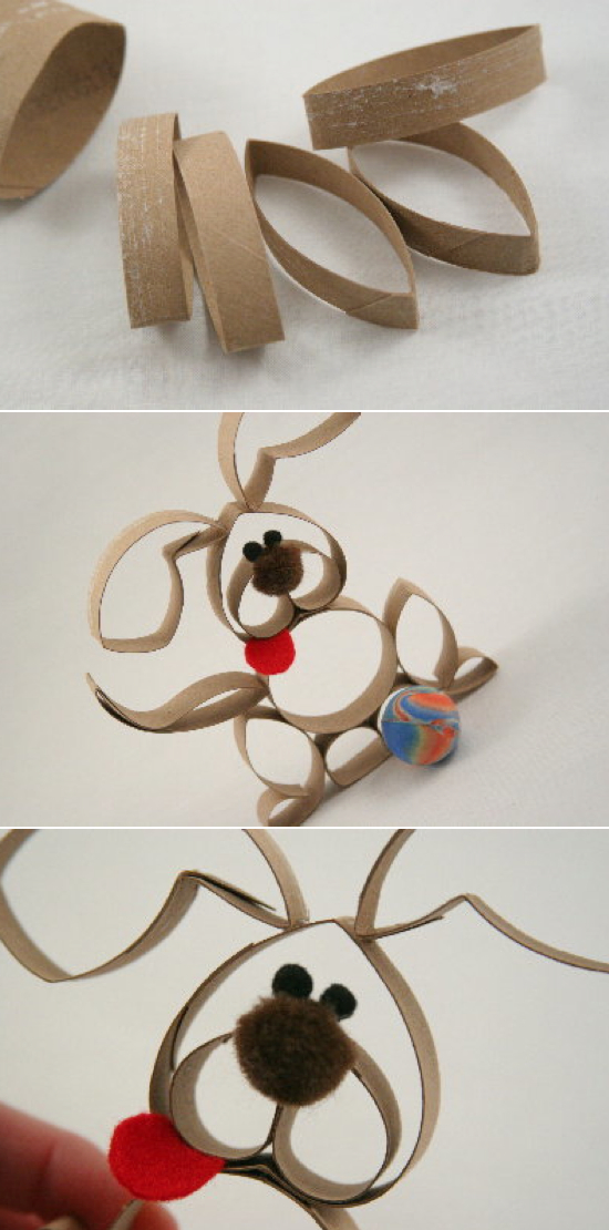 Toilet paper roll crafts kids kubby for Paper roll projects