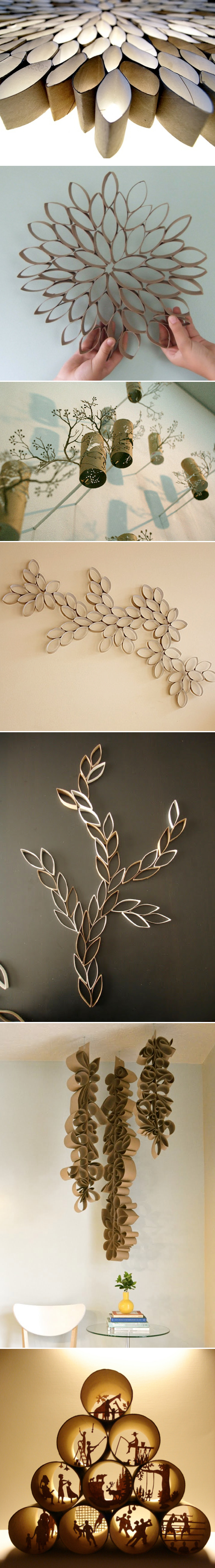 Toilet Paper Roll Art