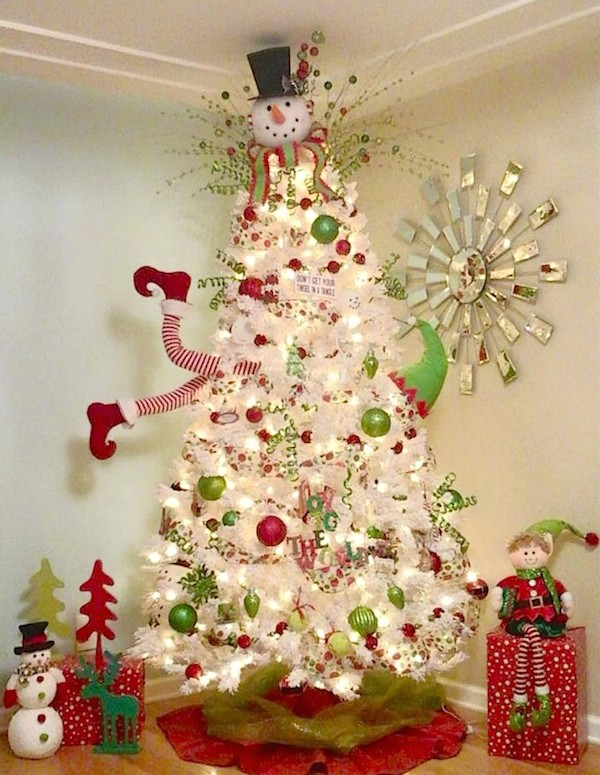 5 Christmas Tree Ideas Kids and Adults Will Both Love -- So easy and cute!