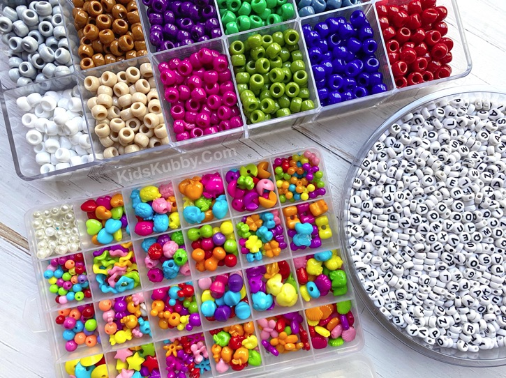 DIY Bead Crafts For Kids To Make -- Beaded Sunglasses