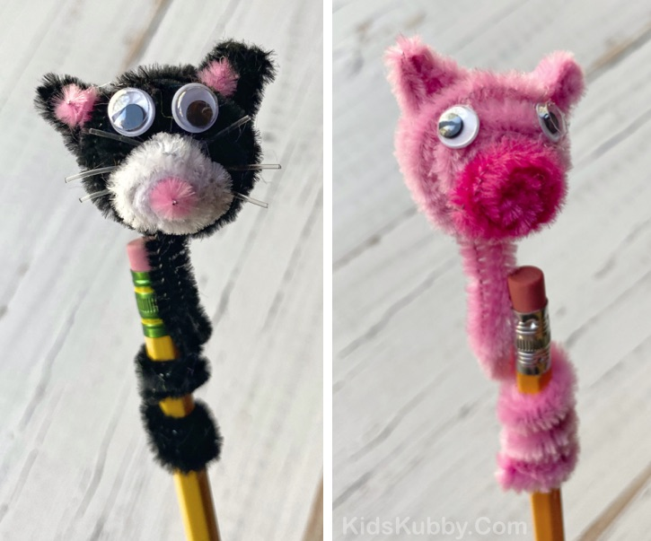 Easy DIY Pipe Cleaner Animals Tutorial